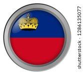 flag of liechtenstein round as... | Shutterstock . vector #1286135077