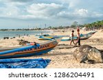 bali  indonesia   february 7 ...   Shutterstock . vector #1286204491