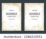 golden marble template.can use... | Shutterstock .eps vector #1286213551