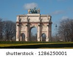 paris  francia  europa. march 5 ...   Shutterstock . vector #1286250001