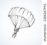 outfit para descent jumper...   Shutterstock .eps vector #1286267941