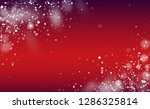 falling snow background.... | Shutterstock .eps vector #1286325814