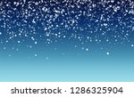 new year snow background.... | Shutterstock .eps vector #1286325904