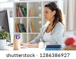 shot of pretty young business...   Shutterstock . vector #1286386927