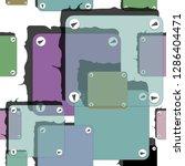 hand drawn  vector pattern.... | Shutterstock .eps vector #1286404471