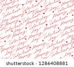 seamless pattern. nice lovely...   Shutterstock .eps vector #1286408881