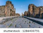 Ruins Of Pompeii Near Naples ...