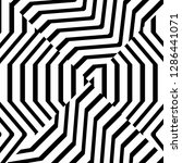 abstract black and white... | Shutterstock .eps vector #1286441071
