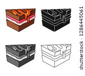 vector illustration of... | Shutterstock .eps vector #1286445061