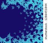 butterflies. flying butterflies....   Shutterstock .eps vector #1286451844