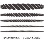 rope icon vector | Shutterstock .eps vector #1286456587