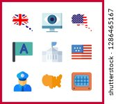 9 government icon. vector...   Shutterstock .eps vector #1286465167
