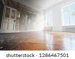 home renovation  empty room... | Shutterstock . vector #1286467501