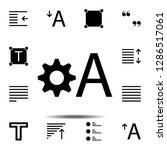 edit text icon. simple glyph ...