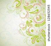 vector retro background | Shutterstock .eps vector #128652545