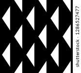 triangles ornament. geometrical ... | Shutterstock .eps vector #1286527477