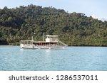 dec 23 2018 bangka boat moving...   Shutterstock . vector #1286537011