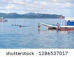 dec 23 2018 tourists enjoy...   Shutterstock . vector #1286537017