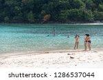 dec 23 2018 people on vacation...   Shutterstock . vector #1286537044