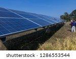 solar panel  alternative... | Shutterstock . vector #1286553544