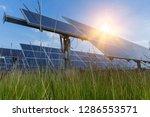 solar panel  alternative... | Shutterstock . vector #1286553571