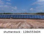 solar panel  alternative... | Shutterstock . vector #1286553604