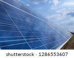 solar panel  alternative... | Shutterstock . vector #1286553607