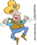 cartoon illustration of a... | Shutterstock . vector #128658944