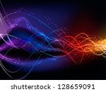 vector illustration of abstract ... | Shutterstock .eps vector #128659091
