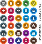 white solid icon set  house... | Shutterstock .eps vector #1286594761