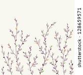 floral background. design... | Shutterstock .eps vector #128659571