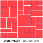 vector frame for photos and... | Shutterstock .eps vector #1286598841