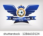 eagle foobal club logo. eps 10 | Shutterstock .eps vector #1286610124