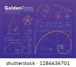set of various figures and... | Shutterstock . vector #1286636701