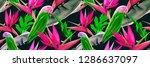 colorful stylish background.... | Shutterstock . vector #1286637097