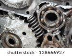 mechanical ratchets | Shutterstock . vector #128666927