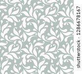 decorative floral pattern with... | Shutterstock .eps vector #1286678167