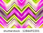 colorful zigzag symmetrical... | Shutterstock . vector #1286692201