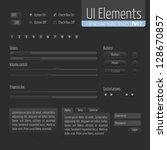 dark ui elements part 2 ...