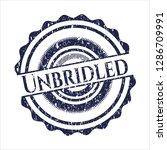 blue unbridled distressed... | Shutterstock .eps vector #1286709991