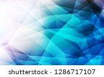 light blue vector triangle... | Shutterstock .eps vector #1286717107