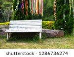 landscape design chair sitting...   Shutterstock . vector #1286736274