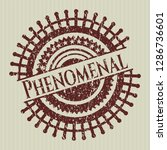 red phenomenal distressed with... | Shutterstock .eps vector #1286736601