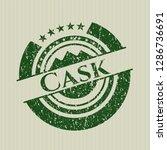 green cask distress rubber... | Shutterstock .eps vector #1286736691
