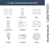 contour icons. trendy 9 contour ...   Shutterstock .eps vector #1286754337