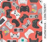 video game controller... | Shutterstock .eps vector #1286782897