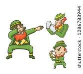 illustration of leprechaun | Shutterstock .eps vector #1286783944