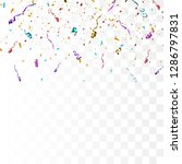 colorful bright confetti... | Shutterstock .eps vector #1286797831