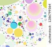 multicolor geometric circle... | Shutterstock . vector #1286799364