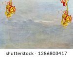 streamers for postcard and... | Shutterstock . vector #1286803417